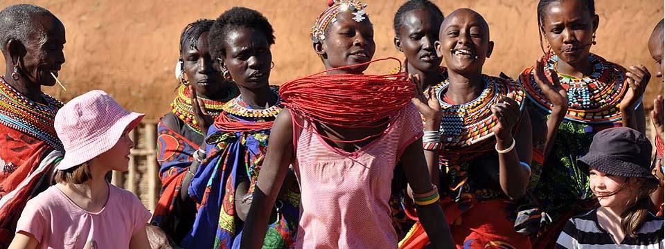 Rencontres, Samburu, Kenya