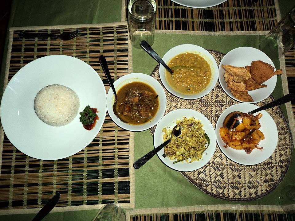 Sri Lanka rice&curry