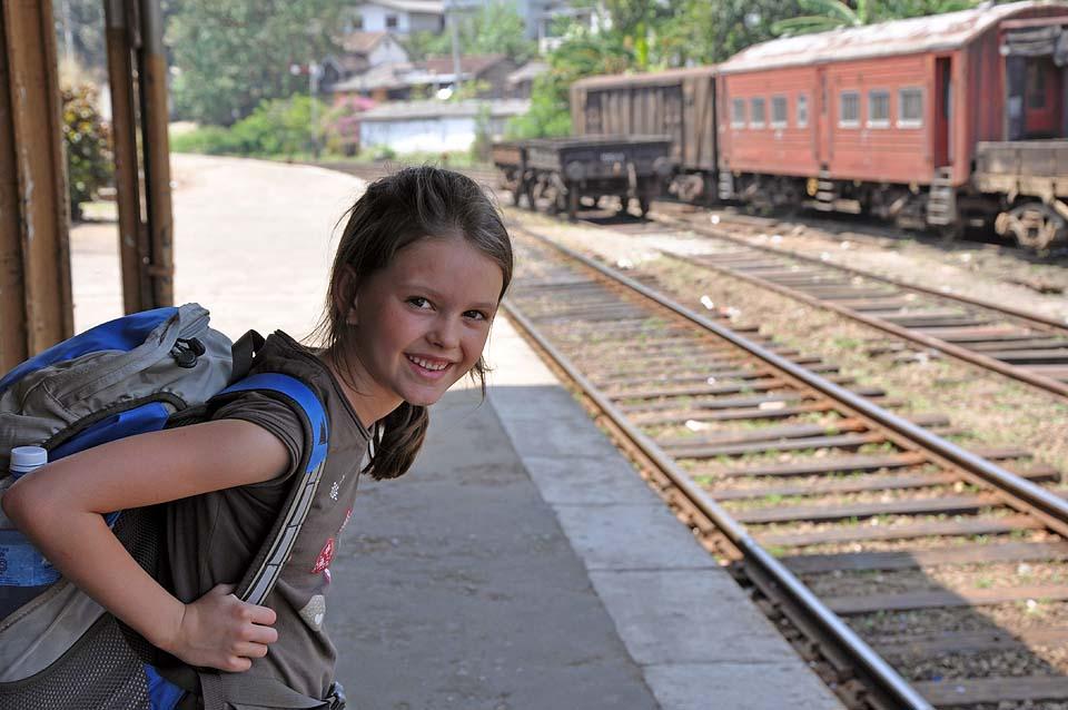 Audrey Côté au Sri Lanka